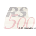 RS500 Sail Decal