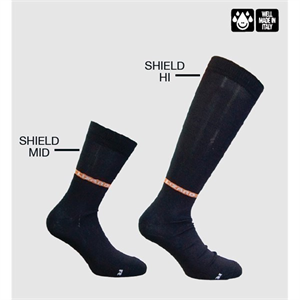Lizard Shield Over Sock: Mid Calf: Large (Shoe Size 7.5 - 8)