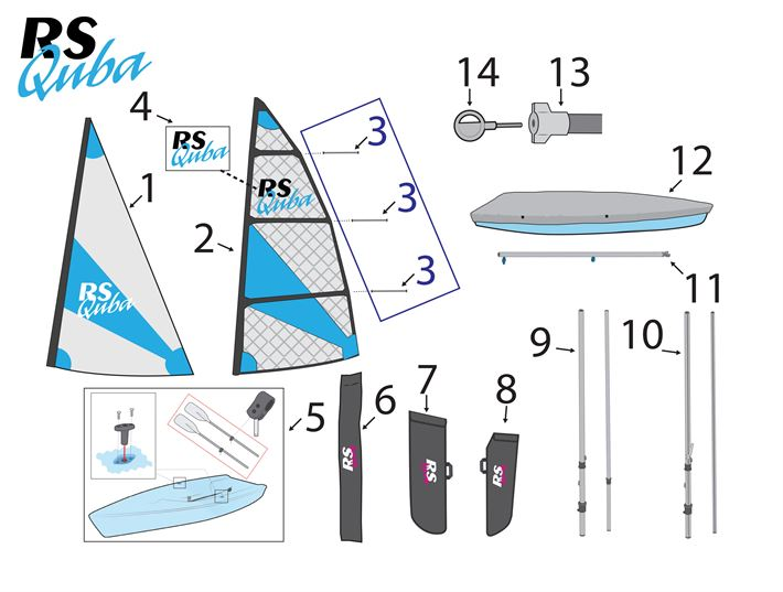 Quba - Sails - Foils - Covers v2