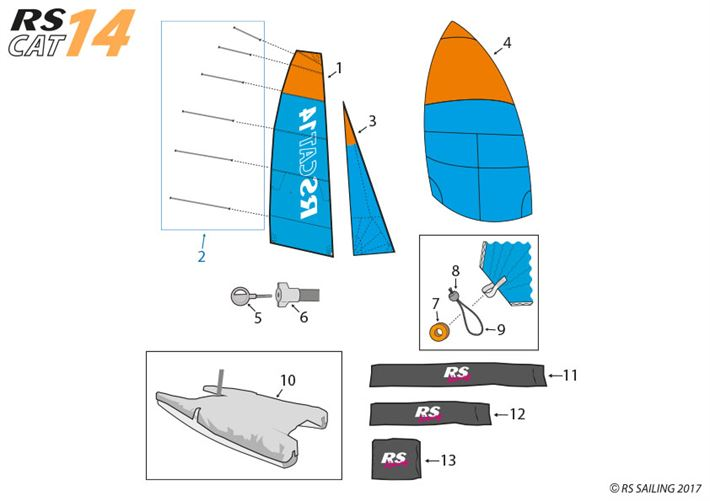 CAT14 - Sails & Covers